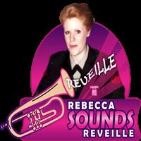 Rebecca Sounds Reveille with Kadrolsha Ona Carole - burst 2